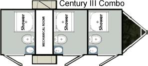 Century 3 combo layout